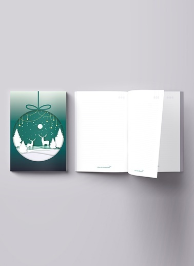 LWP Shop Christmas Notebook Renkli